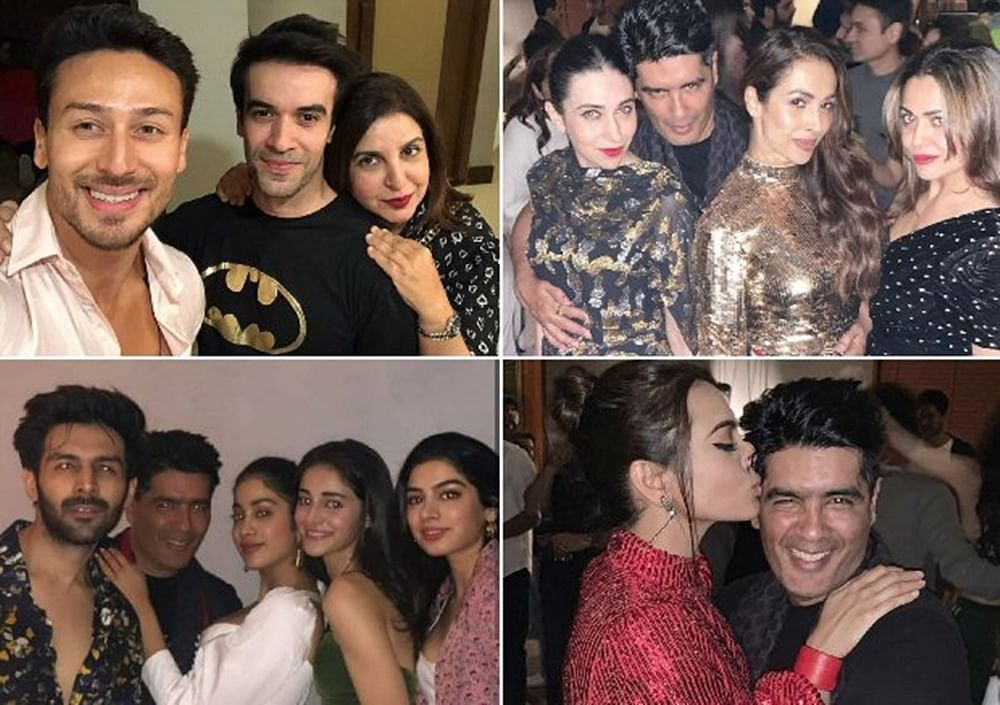 Inside Pics and Videos: Kartik Aaryan, Ananya Pandey, Janhvi Kapoor and others party the night away