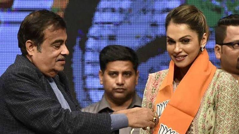 Actress Isha Koppikar joins BJP, made incharge of women's transport wing