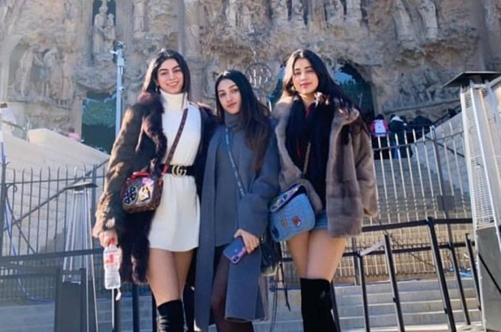 Janhvi Kapoor, Khushi Kapoor are raising temperatures in Barcelona with their winter looks