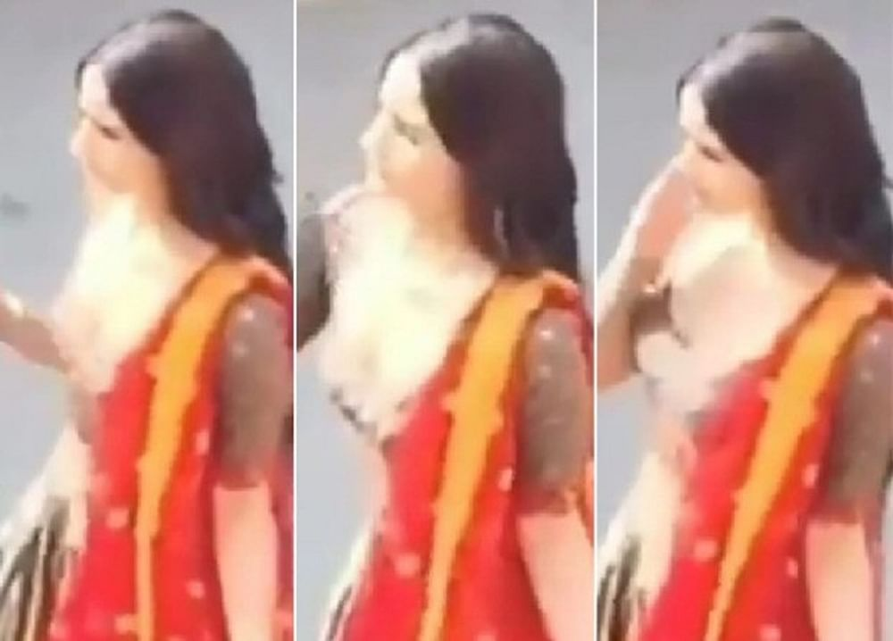 Leaked Alia Bhatt gracefully shoots a dance number for Kalank in Gwalior