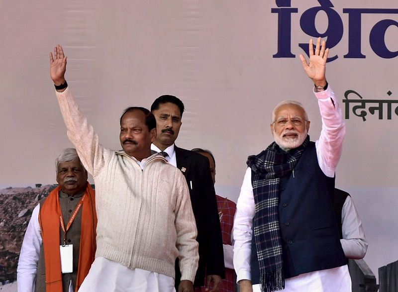 The BJP seeks to retain power amid a determined bid by opposition parties, mainly the Congress and the Jharkhand Mukti Morcha to oust the Raghubar Das-headed government
