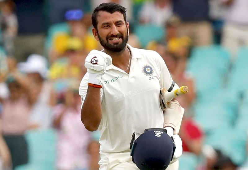Unbeaten Cheteshwar Pujara powers Saurashtra to their third Ranji Trophy final