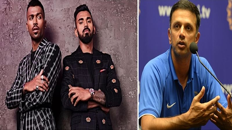 It is not that players didn't make mistakes in the past: Rahul Dravid on Pandya-Rahul KWK Controversy