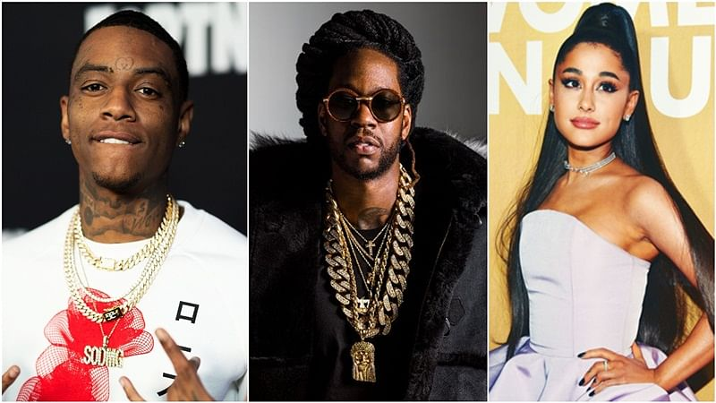 Rappers Soulja Boy, 2 Chainz accuse Ariana Grande for copying their work