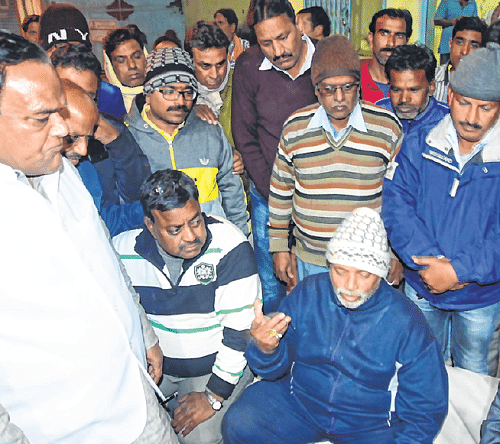 Ujjain: Tehsildar's inspection sparks dispute at mandi