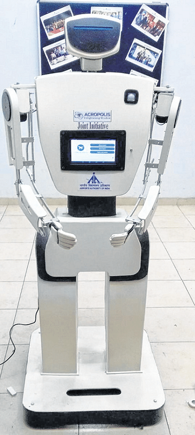 Indore: Get ready to be greeted by robot at airport