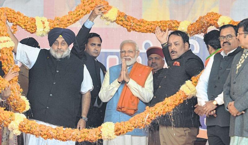 Congress protecting 1984 riot culprits: PM Narendra Modi
