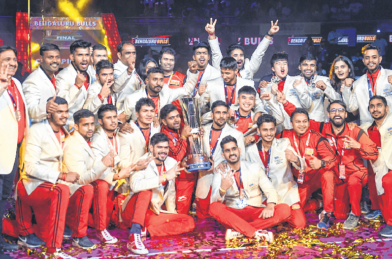 Pawan powers Bengaluru Bulls to title