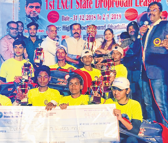 Bhopal: Akshat Tigers clinch title at Drop RoBall League