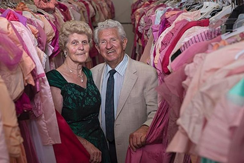 83-year-old German man bought 55,000 dresses for wife so she wouldn't have to wear the same twice