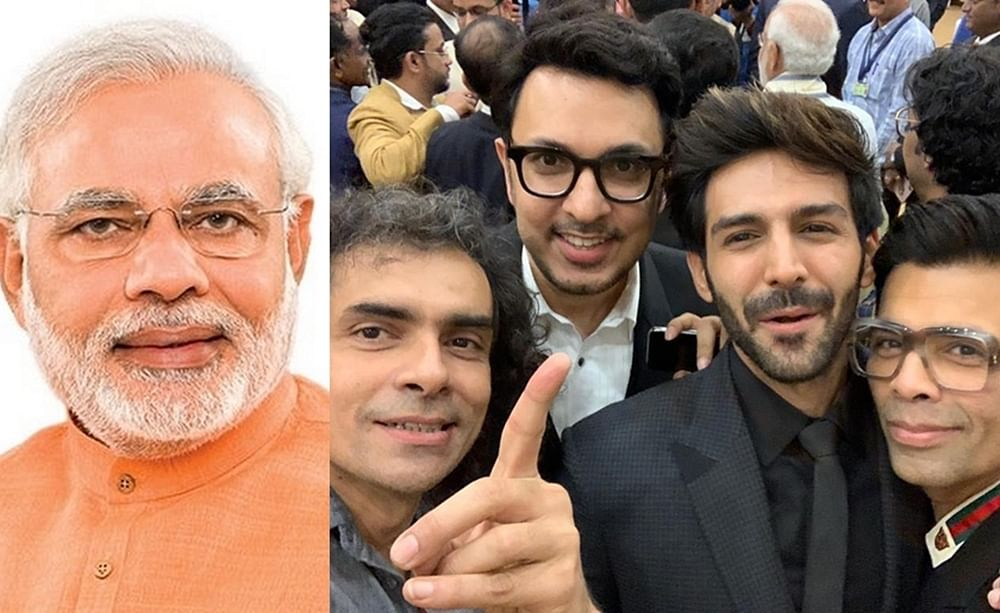 Narendra Modi's hilarious response to Imtiaz Ali's 'backfie' is cracking up the internet