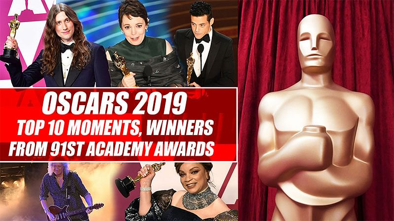 Oscars 2019: Top 10 moments, winners from 91st Academy Awards