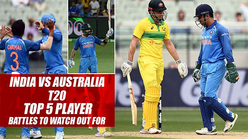 India vs Australia T20Is | Top 5 Player Battles To Watch Out For