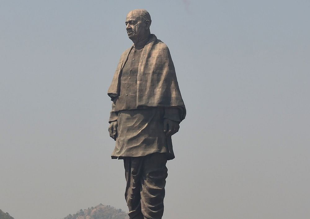 Statue of Unity<br />Photo by SAM PANTHAKY / AFP