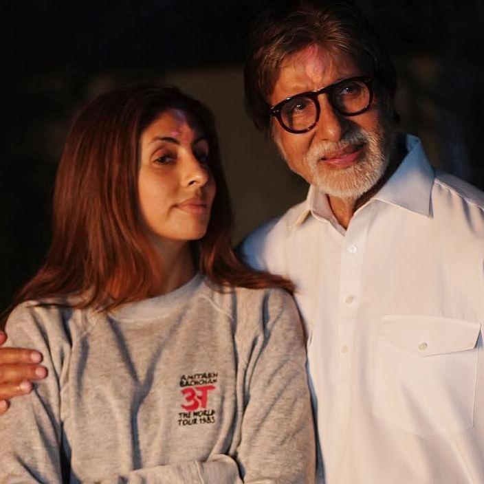 Here's how Amitabh Bachchan embarrassed daughter Shweta Nanda