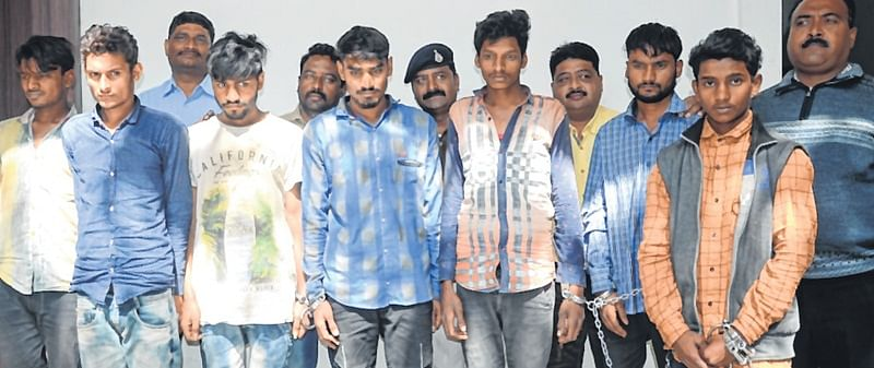 Indore: Bike thieves, four college students among 7 arrested
