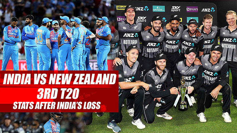 India vs New Zealand 3rd T20 Stats After India's Loss
