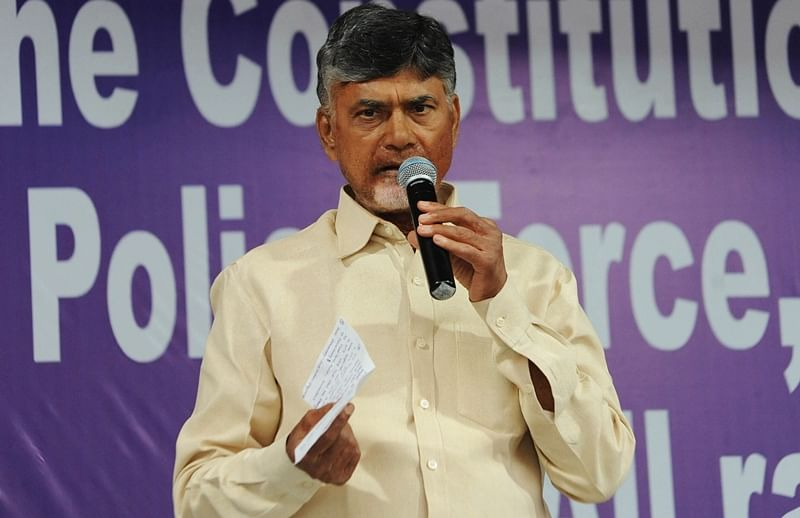 Non-BJP parties to move Supreme Court against use of EVM: Andhra Pradesh CM N Chandrababu Naidu