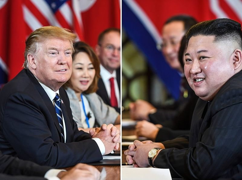 Donald Trump in 'no rush' as formal nuclear talks open with Kim Jong Un