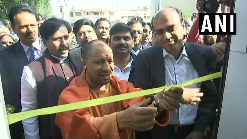 Uttar Pradesh: CM Yogi Adityanath inaugurates computerized mobile bus classroom