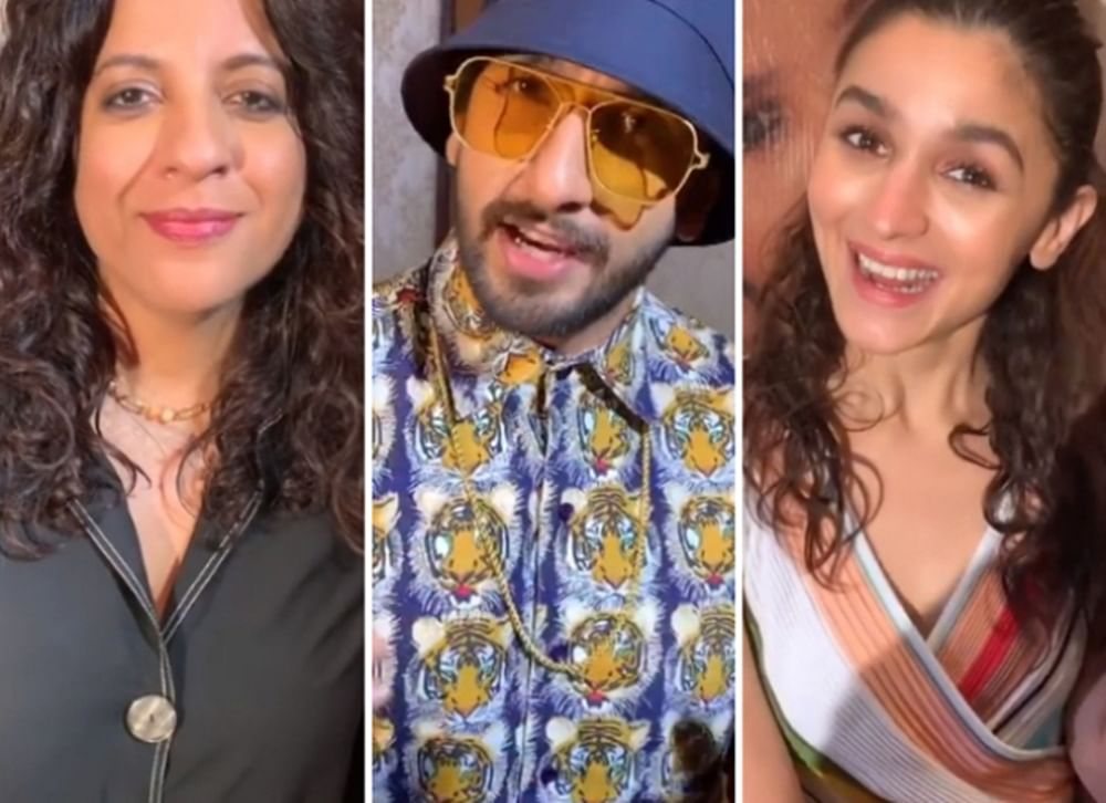 Watch! Karan Johar trolls Alia's cassata look but it's Ranveer's response to it which is unmissable