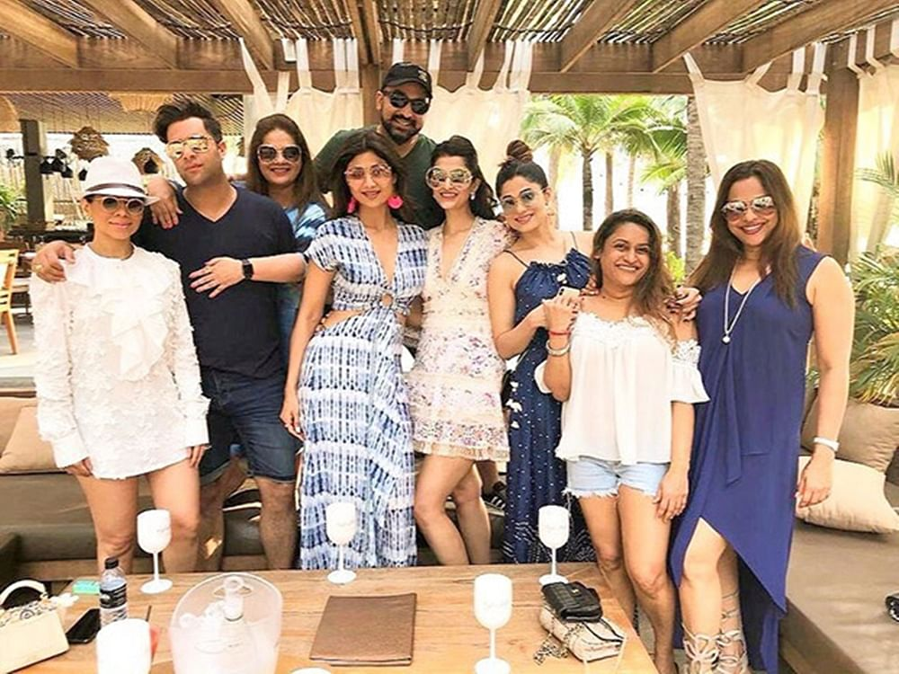 See Pics: Shamita Shetty kicks off her birthday in Phuket with friends and family