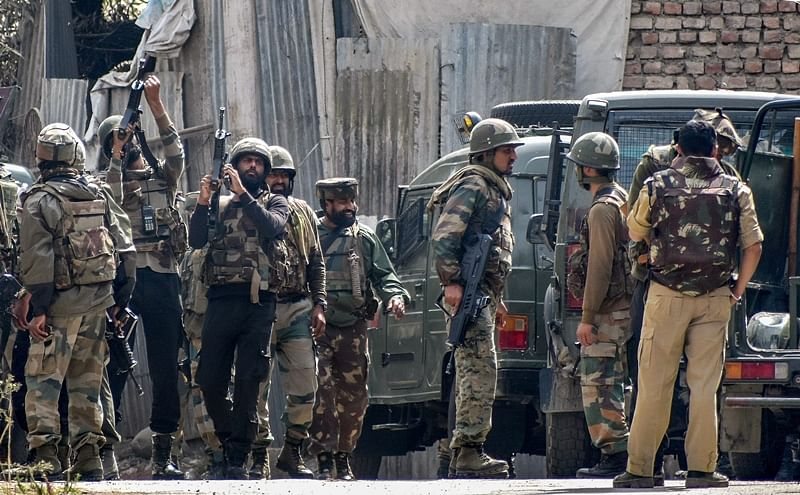 Two JeM terrorists killed in encounter at Jammu and Kashmir's Shopian