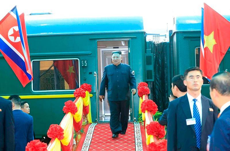 North Korean leader Kim Jong Un arrives in Vietnam ahead of summit