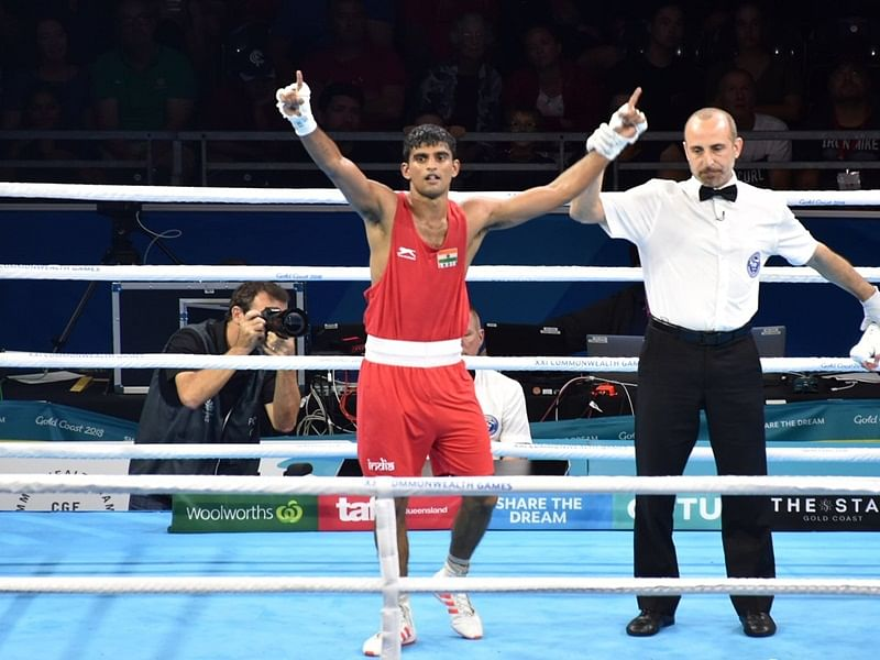 Makran Cup: Indian boxers Manish Kaushik, Duryodhan Negi, Rohit Tokas assured of medals after entering semis