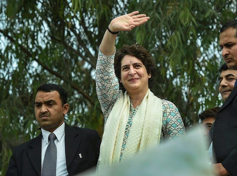 Priyanka Gandhi to address 'Sankalp rally' in Gujarat on February 28