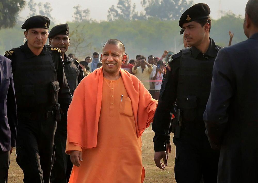 Uttar Pradesh CM Yogi Adityanath<br />PTI Photo