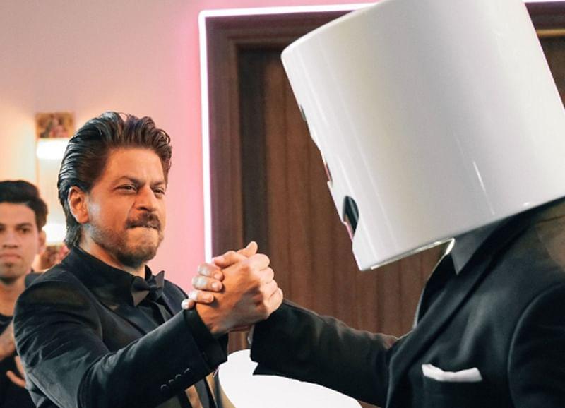Shah Rukh Khan collaborates with DJ Marshmello on BIBA music video