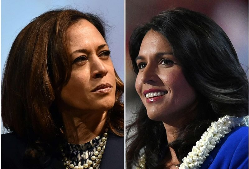 Kamala Harris, Tulsi Gabbard to campaign in early-voting states in February