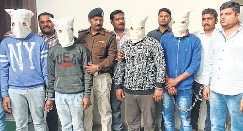 Indore: City police arrest 5 accused