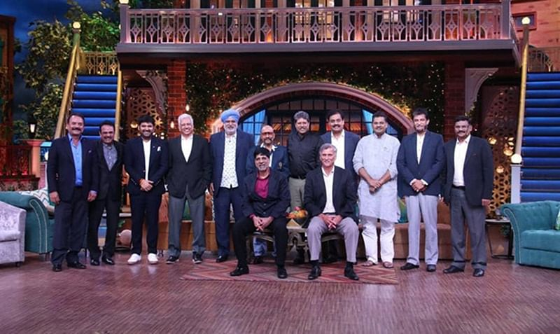 Kapil Dev with entire 1983 Indian cricket team reunite on 'The Kapil Sharma Show'