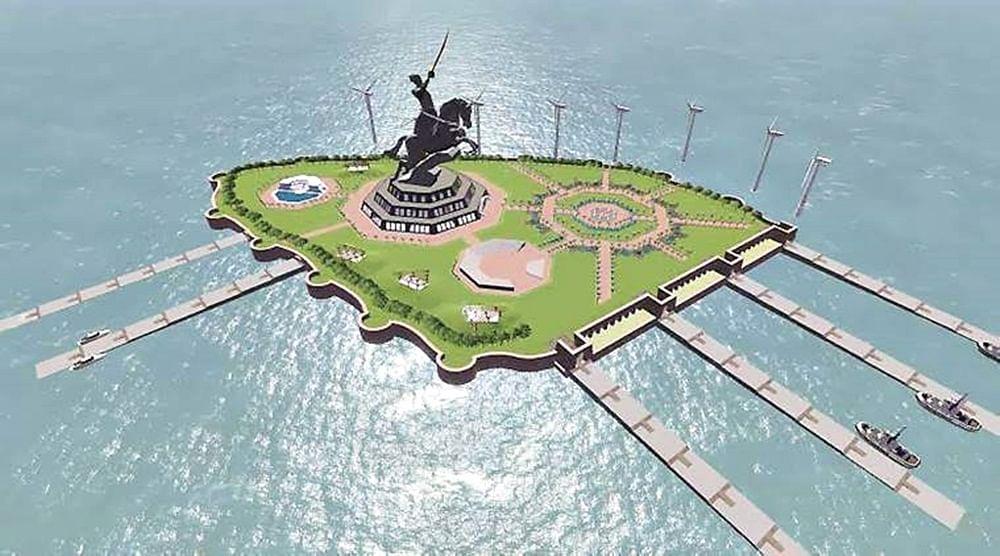 Proposed look of Shivaji Smarak