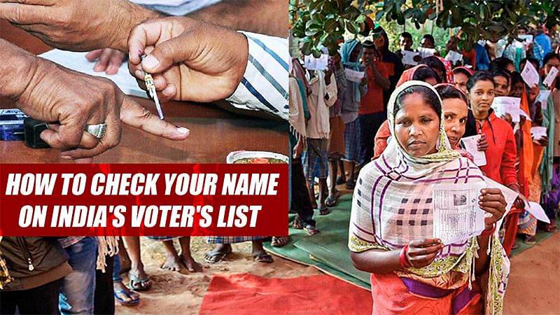 How To Check Your Name On India's Voter's List