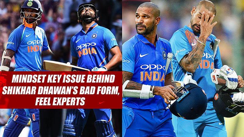 Mindset Key Issue Behind Shikhar Dhawan's Bad Form, Feel Experts