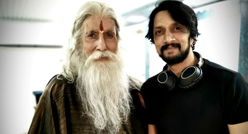 Kiccha Sudeep, excited to share screen space with Amitabh Bachchan again in Sye Raa Narasimha Reddy