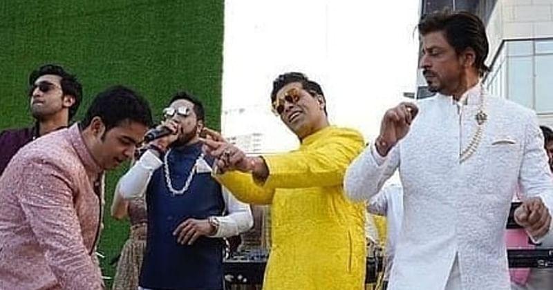 Catch a glimpse of KJo, Hardik Pandya dancing at Akash, Shloka's wedding