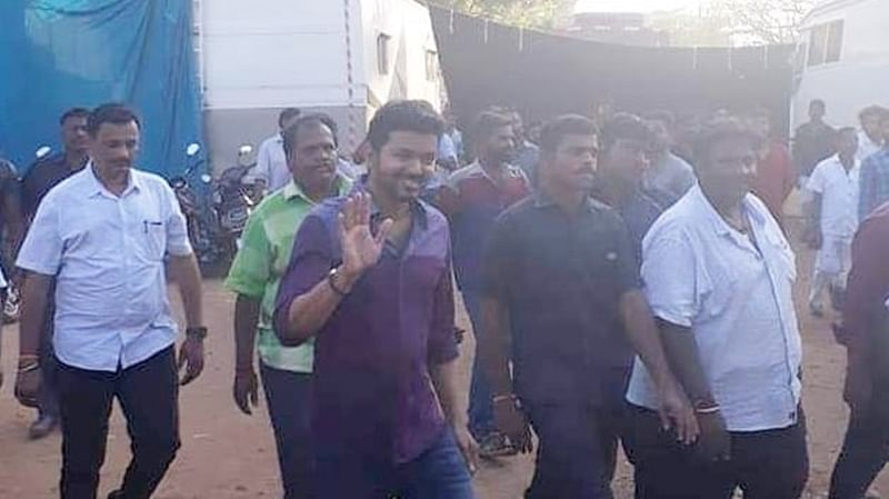 Vijay crowned as real life HERO for saving fans in an on-set accident