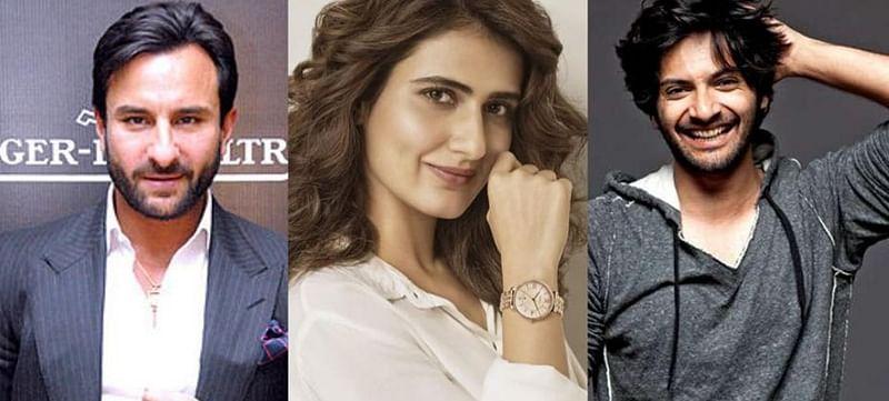 Saif Ali Khan teams up with Ali Fazal, and Fatima Sana Shaikh for horror comedy 'Bhoot Police'