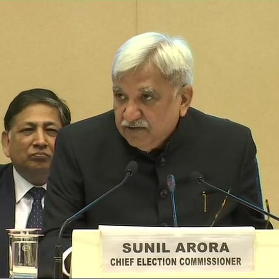 CEC Sunil Arora takes charge of World Election body