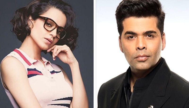 Kangana Ranaut calls out Karan Johar, says he needs a dose of chyavanprash