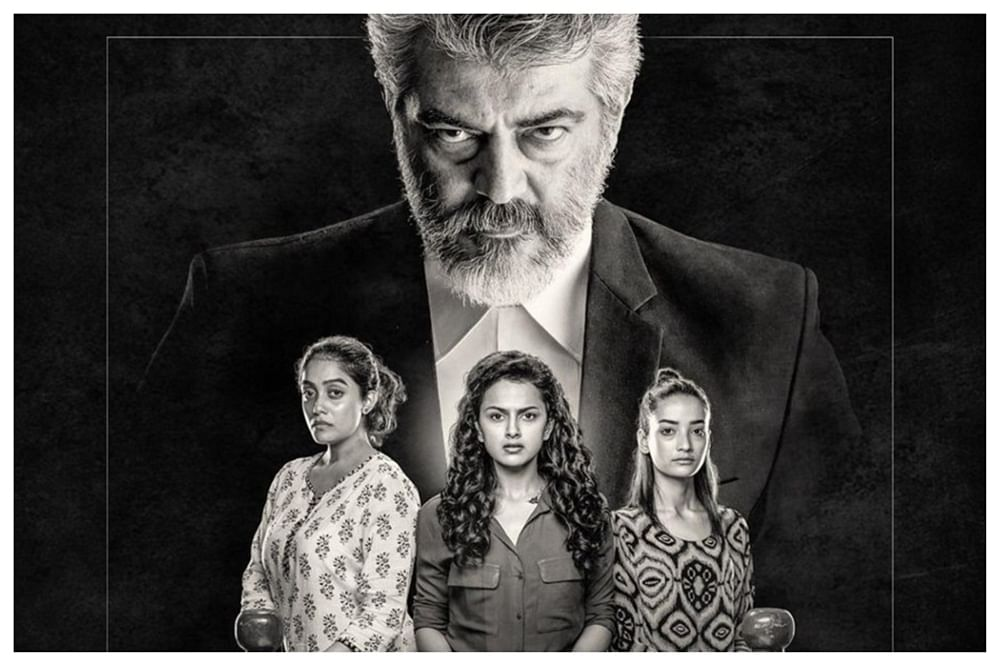 'Pink' Tamil remake titled 'Nerkonda Paarvai', makers unveil first look