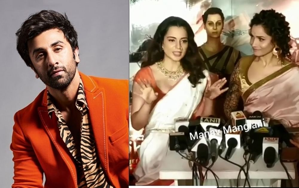 Watch! Ankita Lokhande can't stop laughing as Kangana Ranaut mocks Ranbir Kapoor
