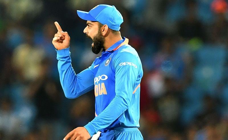 India vs Australia: Virat Kohli jumps with joy after Jasprit Bumrah's unexpected six off last ball, watch video
