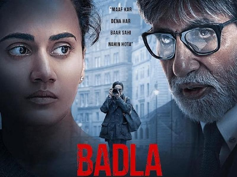 'Badla' full movie leaked online in HD quality; can affect Amitabh Bachchan, Taapsee Pannu starrer's box office collection