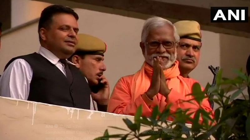 Swami Aseemanand, 3 others acquitted in Samjhauta train blast case