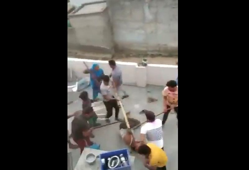 Gurugram: Family members thrashed with sticks and swords over cricket, 1 arrested